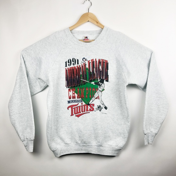 finest selection 988de c1b65 Vintage Minnesota Twins Sweatshirt World Series 91